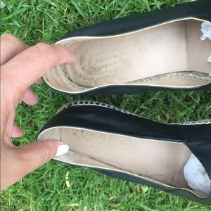 CHANEL Shoes - 1 HR SALE CHANEL Leather Loafer Espadrilles Shoes